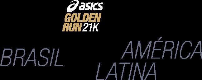 Asics Golden Run -  Brasil América Latina